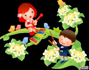 Что красивей всего - картинка к стихам детским