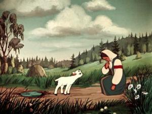 Сестрица Алёнушка и братец Иванушка картинка к сказке