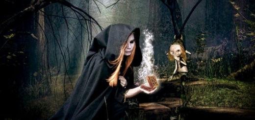 Ведьма картинка к сказке