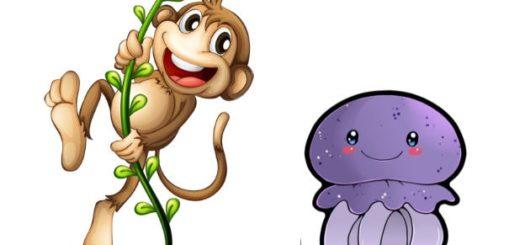 Обезьяна и медуза